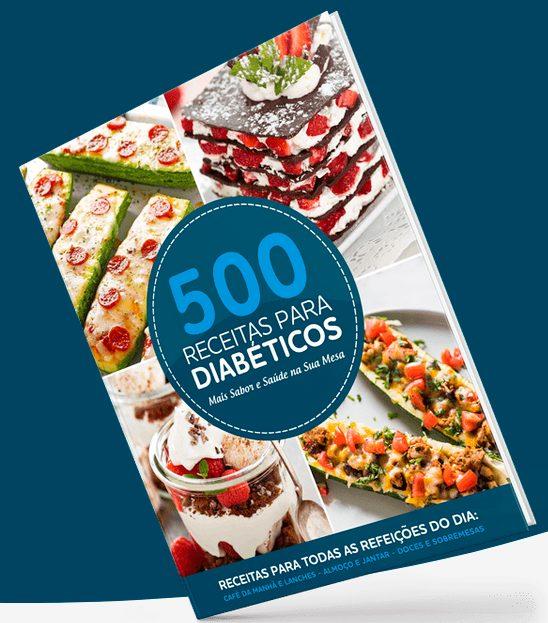 500 receitas para diabéticos